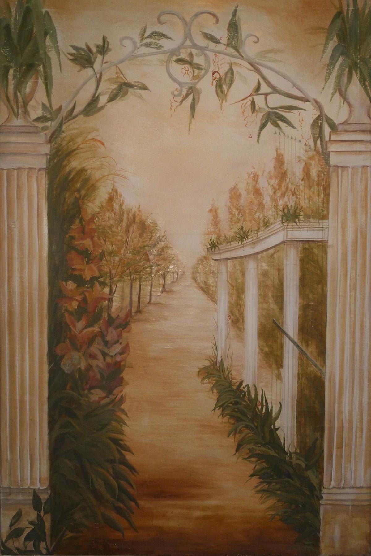 Fresken und Gemälde