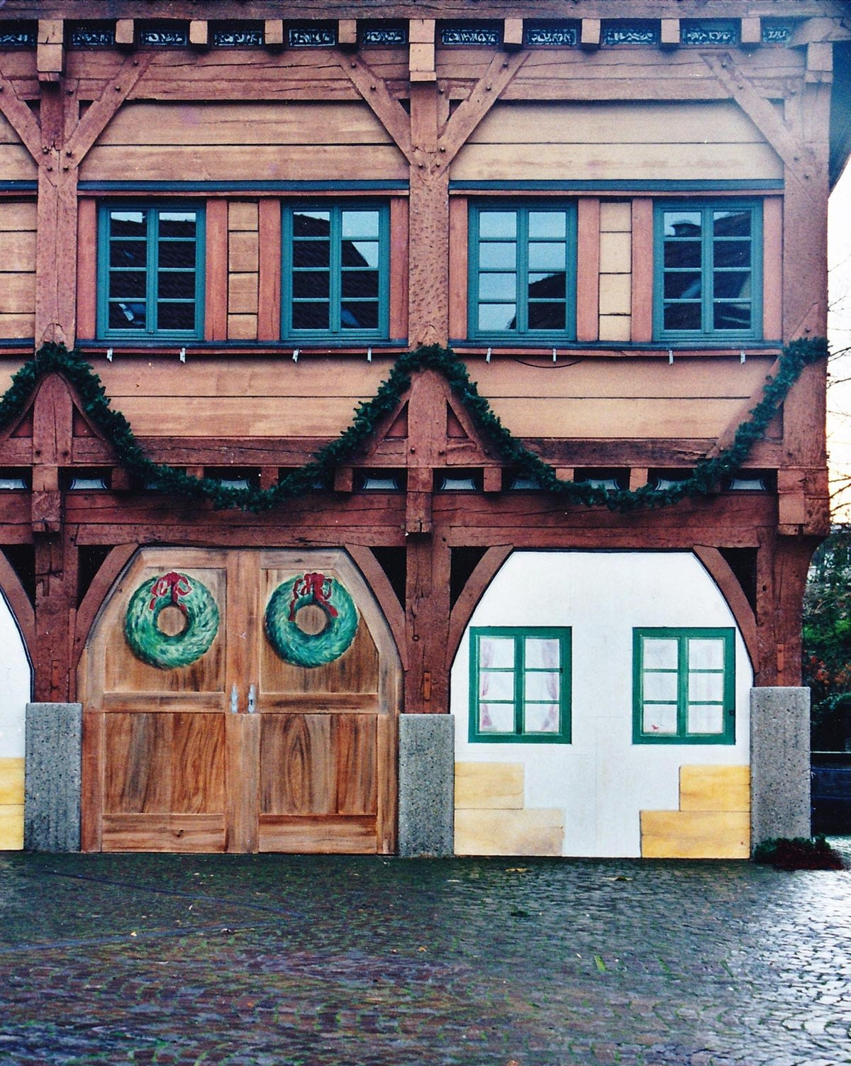 Fassadenmalerei:  Rathaus Plochingen