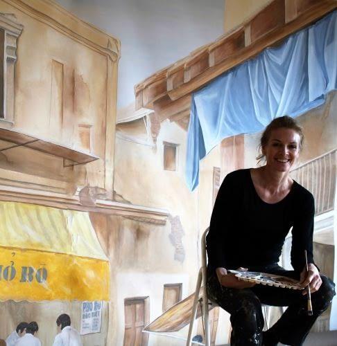 Wandmalerei Konstanze Lohrmann